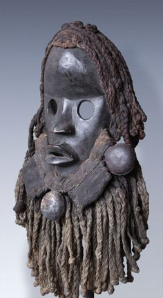 Dan Go Ge Mask, Ivory Coast