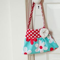 little girls purse toddler handbag tote in teal and by Neatokiddo, $18.00