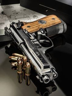 beretta (Listen to your father; without him, you would not exist. When your mother is old, show her your appreciation. Weapons Guns, Guns And Ammo, Beretta 92, Beretta Shotgun, Custom Guns, Cool Guns, Rifles, Tactical Gear, Tactical Survival