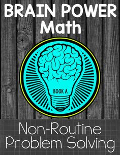 Non-Routine math tasks that require problem solving and critical thinking! (Book A) $