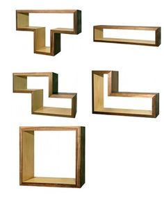 tetris shelves and modular bookcase systems