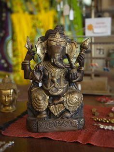 Create your own online store and sell multi-channel with Highwire. Brass Statues, Marigold, Ganesh, Create Your Own, Decorative Boxes, India, Goa India, Decorative Storage Boxes, Ganesha