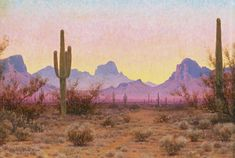 View Arizona by Audley Dean Nicols on artnet. Browse upcoming and past auction lots by Audley Dean Nicols. Desert Aesthetic, Nature Aesthetic, Photo Desert, Painting Inspiration, Art Inspo, Desert Dream, All Nature, Photo Wall Collage, Aesthetic Wallpapers