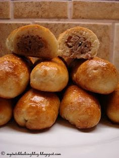 """""""Worstenbroodjes"""" are a hearty treat from my province in the Netherlands (Noord-Brabant)...I make them every so often because my husband demands them...they're tasty goodness ;)"""
