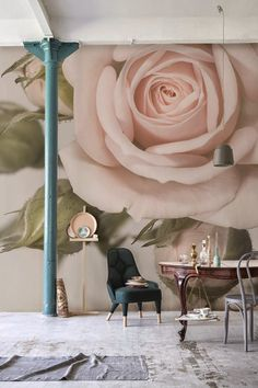 25 Best ideas for pink floral wallpaper bedroom wall murals