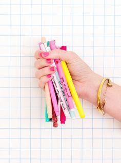 sweet talk pen set from ban.do!