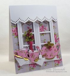 Tea Party Time by kittie747 - Cards and Paper Crafts at Splitcoaststampers
