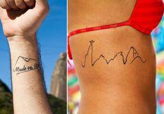 Tatuagens com belezas do Rio ganham adeptos; veja e se inspire - Fotos - R7 Rio de Janeiro