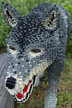 Awesome Lego wolf
