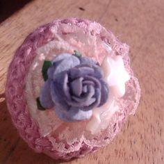 Flower peach ring