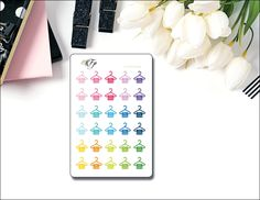 Dry Cleaning Planner Stickers EC-324