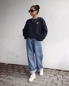 Cute Casual Outfits, Retro Outfits, Vintage Outfits, Moda Streetwear, Streetwear Fashion, Mode Outfits, Fall Outfits, Fashion Outfits, 70s Fashion