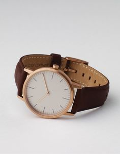 152 PVD Rose Gold & Walnut