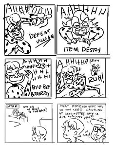 """LADYBUG AND CAT NOIR aleternateladynoir: """" Starting off with my favourite discovery scenario- Marinette having a meltdown after having an entire season of intense bonding and romantic moments with the boy of her dreams..."""