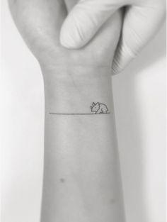 dinosaur tattoo