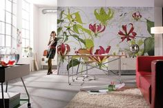 Papel de parede Wallpaper www.intense-mobiliario.com  Gloriosa http://intense-mobiliario.com/product.php?id_product=4868