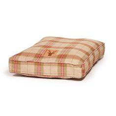 Danish Design Newton Box Duvet Dog Bed-Moss Check by Danish Design | Pet Runway   #petpinup #petrunway  #MyPetPinUp