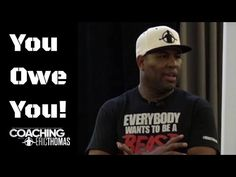 The World's Number 1 Motivational Speaker, Eric Thomas delivers one of. Motivational Quotes For Employees, Motivational Speeches, Motivational Videos, Inspirational Videos, Eric Thomas Quotes, What's So Funny, Intrinsic Motivation, New Daddy, Birthday For Him