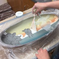 Latex Resist: A Surface Tool — objective clay The big reveal! Pottery Tools, Pottery Classes, Slab Pottery, Ceramic Pottery, Pottery Art, Ceramic Decor, Ceramic Clay, Ceramic Painting, Ceramic Techniques