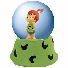 Flintstones Pebbles Water Globe • $10.99