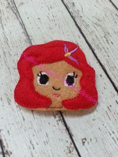 4 Piece Under water princess  Felties by IsellusDesigns on Etsy