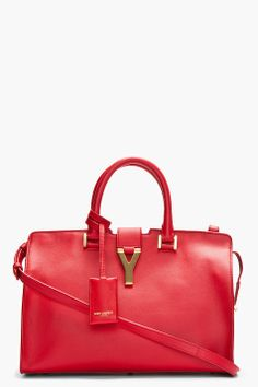 Saint Laurent Red Tote