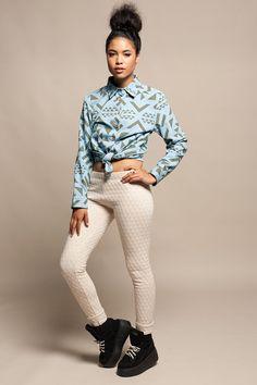 Koshka - Reality Studio Quilted Leggings, $110.00 (http://www.shopkoshka.com/new-in/reality-studio-quilted-leggings/)