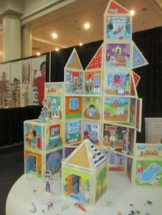 The award winning story book build and imagine sets were a favorite of mine at Toy Fair NY 2016.  See more at http://www.grandmachronicles.com/2016/03/highlights-of-toy-fair-ny-2016.html