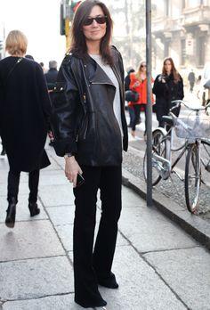 Emmanuelle Alt...in bootcuts!