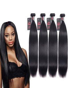 Amazon.com : Malaysian Hair Straight 1 Bundle Of 16 Inch 100g Human Hair Bundles 8A 100% Unprocessed Malaysian Virgin Hair Natural Color Hair Extension : Beauty