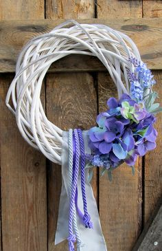 wianek na drzwi i nie tylko. Willow Wreath, Grapevine Wreath, Wreath Crafts, Flower Crafts, Wreaths For Front Door, Door Wreaths, Easter Wreaths, Summer Wreath, Spring Flowers