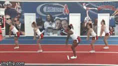 "Drills for teaching proper jump technique from Britten Blackburn's video ""Jump Perfection""! #ChampCheer"