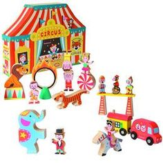 Big Top Circus without Train or Track | Imagine Toys