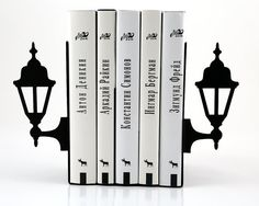 Lamp post bookends #bookends