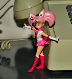 Chibimoon figurine Sailor Moon vintage adventure figure Irwin #Irwin
