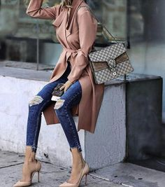Cool and chic street style Style Désinvolte Chic, Style Casual, Casual Chic, Casual Outfits, Fashion Outfits, My Style, Fashion Week, Love Fashion, Fashion Looks