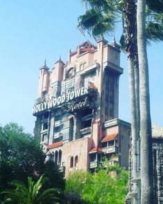 Tower of terror. Holliwood studios