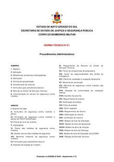 Procedimento para aprovação de projetos no Corpo de Bombeiro de Mato Grosso do…