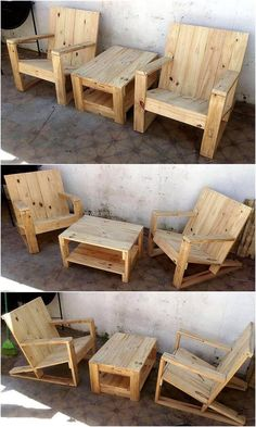 It's a time to reshape the ordinary and dull look of your place by retransforming the useless wooden pallets stack of your home and by creating these awesome wood chairs from it. These are not only an easy and affordable project for everyone but will also give your home a charming look.