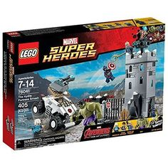 Marvel Lego Super Heroes Avengers The Hydra Fortress Smash Set (76041) ** See this great product.