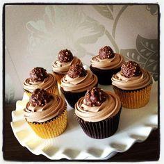 Ferrero cupcakes from Yummymummy Cupcakes