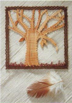 Сувениры. Плетение на коклюшках Lace Heart, Lace Jewelry, Bobbin Lace, Lace Detail, Butterfly, Frame, Flowers, Trees, Leaves