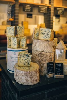 Find the best cheese in London at Neal's Yard Dairy. The Taste Edit shares their favorite foodie stops in London. Best Cheese, Cheese Food, Cheese Bar, British Cheese, Cheese Store, Coconut Milk Smoothie, Homemade Frappuccino, Cheese Tasting, Artisan Cheese