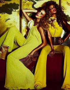 jewel toned yellow.