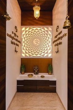 3 Dumbfounding Useful Tips: False Ceiling For Hall Design round false ceiling design.False Ceiling Bedroom With Fan false ceiling luxury lighting.False Ceiling Wedding New Years Eve. Pooja Room Door Design, Ceiling Design Living Room, Bedroom False Ceiling Design, False Ceiling Living Room, Home Ceiling, Living Room Designs, Ceiling Tiles, Ceiling Beams, Ceiling Lights