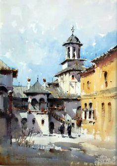 Watercolor, Paintings, Watercolor Painting, Pen And Wash, Watercolour, Painting Art, Painting, Painted Canvas, Watercolors