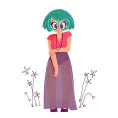 Uma das séries mais legais da ilustradora Fernanda Ribeiro se chama Girls in Colours e traz diversas mulheres com personalidades diferentes. Confira!