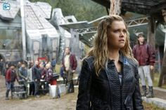 "#The100 4x04 ""A Lie Guarded"" - Clarke"