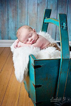 Newborn Photography! Love the Props and Color!! {REPIN} and {FOLLOW} us! www.blissfulbabynurse.com