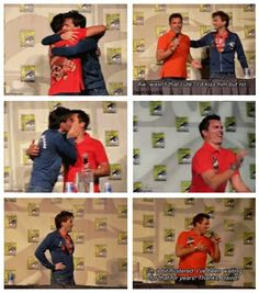 The Doctor and Jack Harkness. LOVE THIS!
